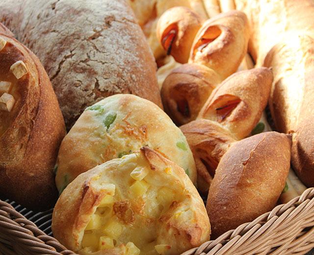 夕食におすすめのパン各種